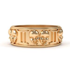 ring gemini 3D model
