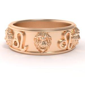 ring leo 3D model