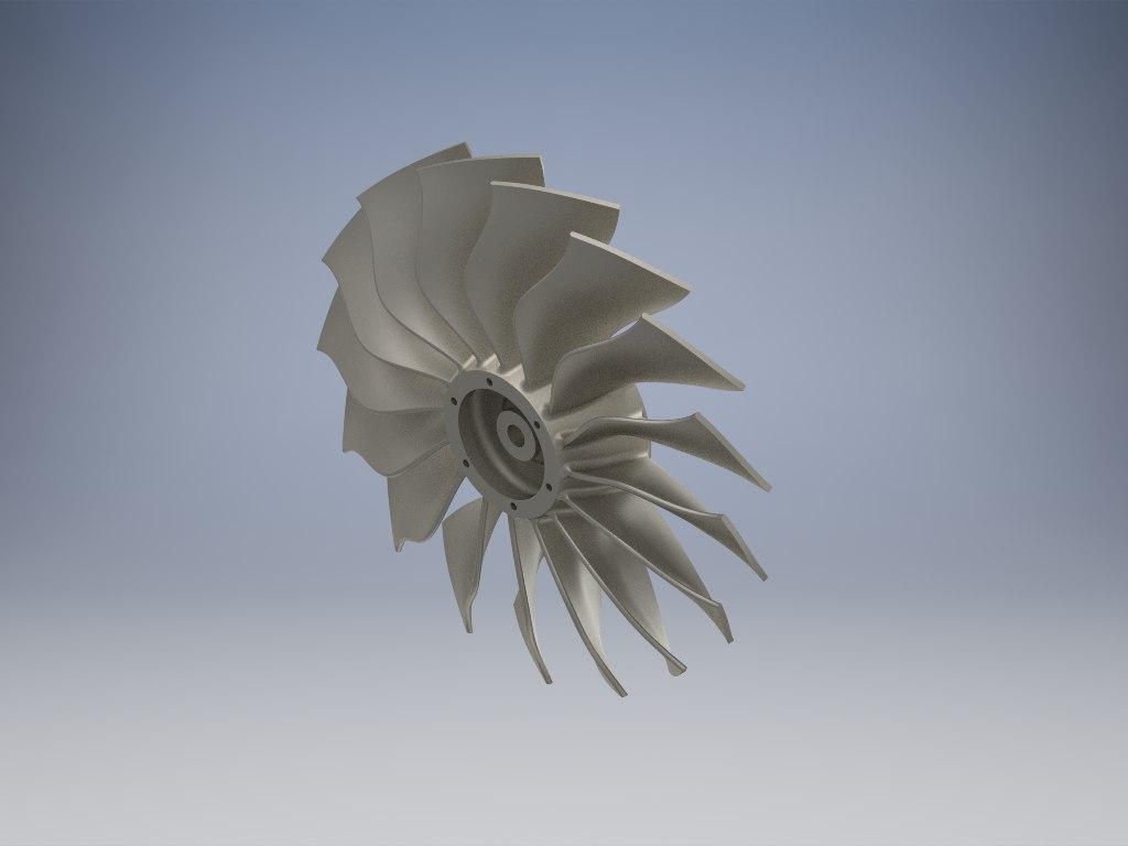 jet fan 3D