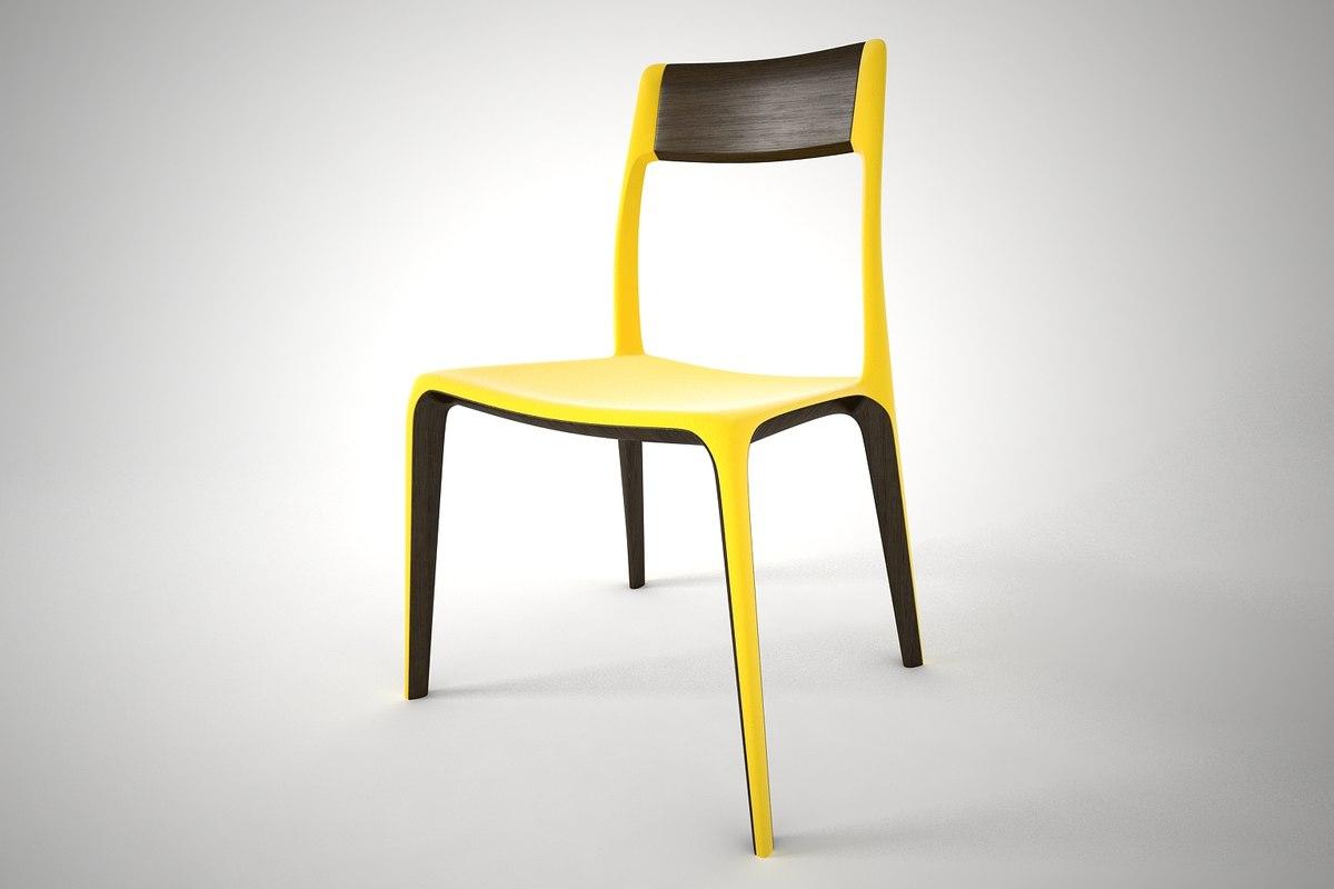 3D model furnishings furniture chair