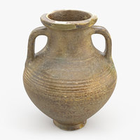 Ancient Saudi Pottery Jug
