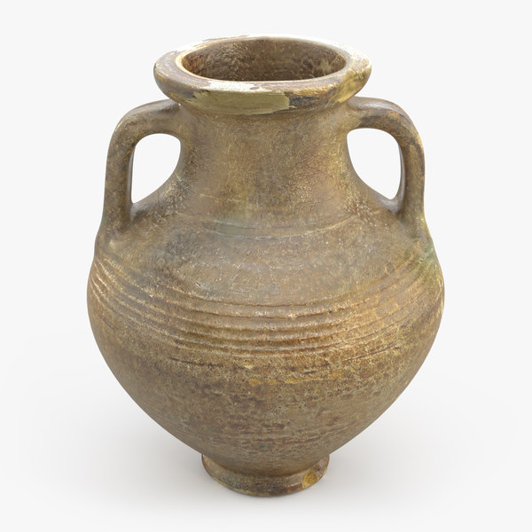 ancient saudi pottery jug model
