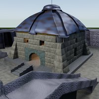 fortress fort 3D model