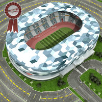 Soccer Stadium High Quality