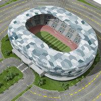 Soccer Stadium High Quality