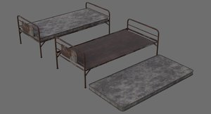 bed 1c mattress 3D