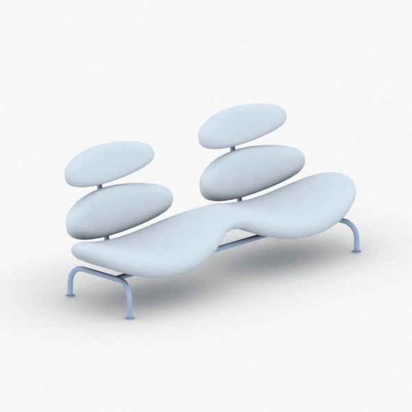 3D - armchairs chairs