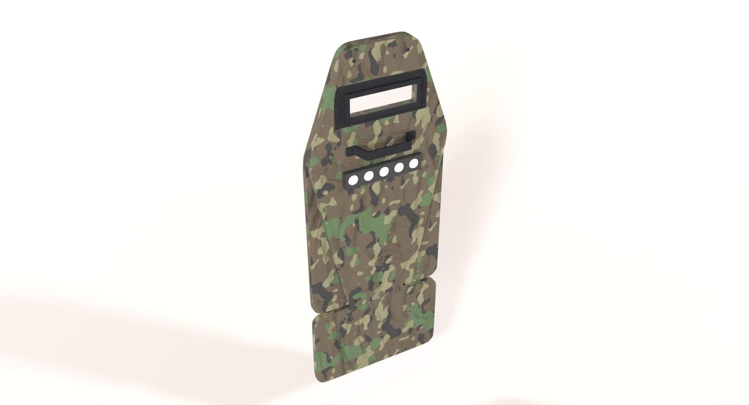 vant vm tactical shield model