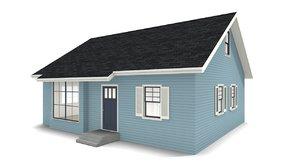 3D house bungalow
