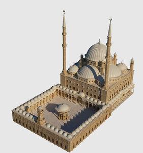 muhammad ali mosque 3D