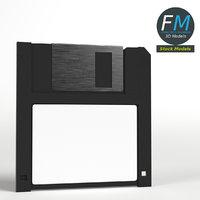 3D floppy disk model