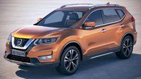 nissan x-trail crossover 3D model