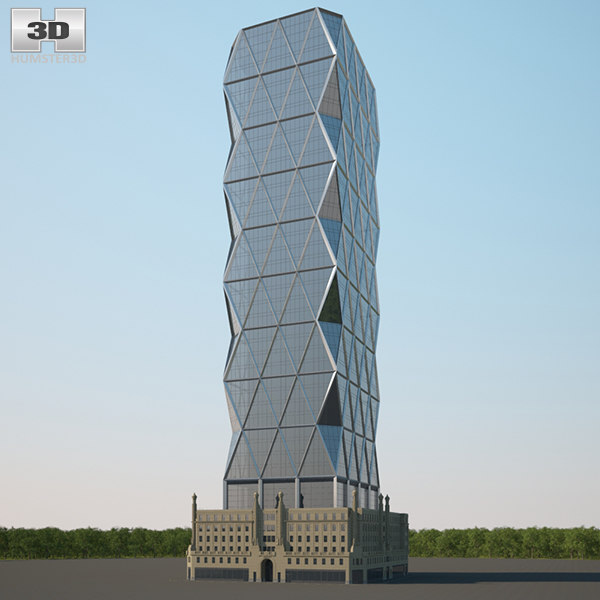 3D hearst tower