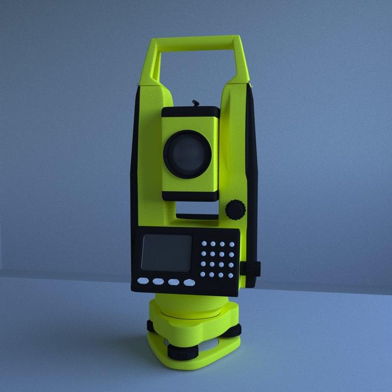 total tacheometer 3D