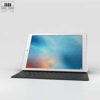 3D apple ipad pro