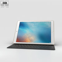 apple ipad pro 3D