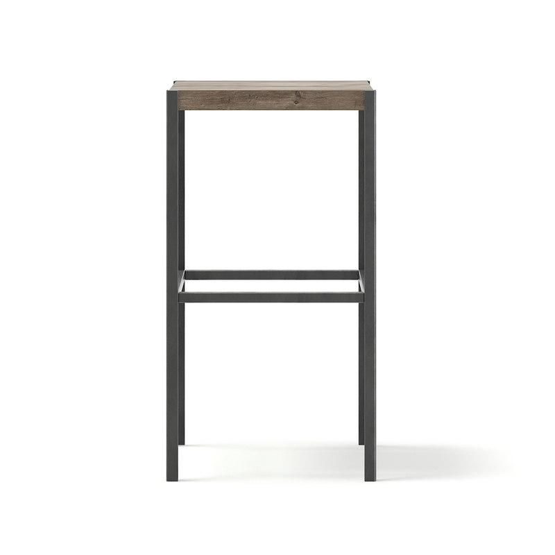 tall stool metal 3D