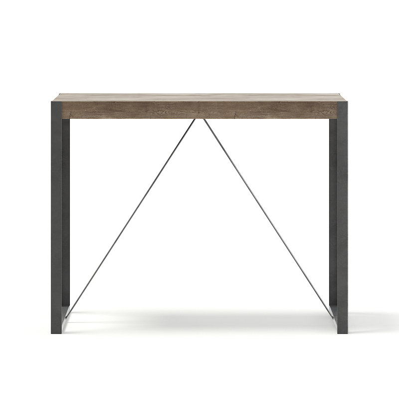 3D tall table metal