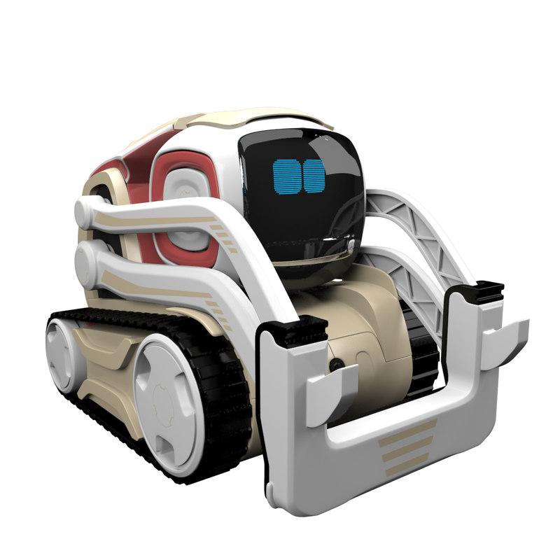 3D anki cozmo robot toy model