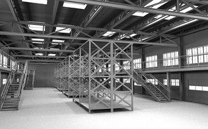 3D storage store storehouse