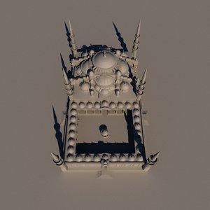 3D camii mosque