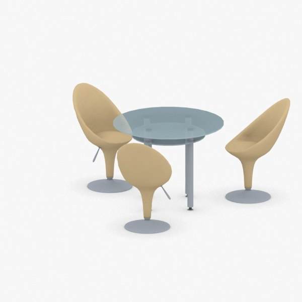 - sets chairs table model
