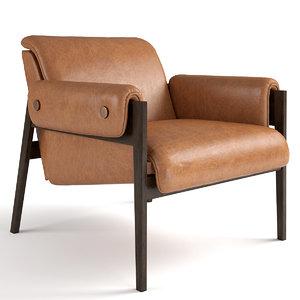 chair stanton 3D model