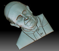 3D francesco pope model