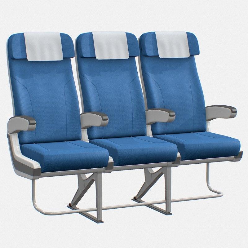 3D airplane chair
