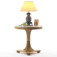table g079 end lamp 3D model
