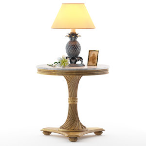 table g079 end lamp 3D model