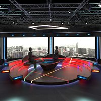 virtual tv studio chat model