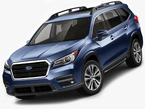3D subaru ascent 2019 model