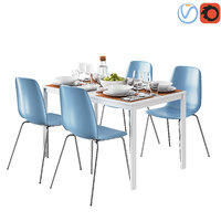 table ikea vangsta leifarne 3D model