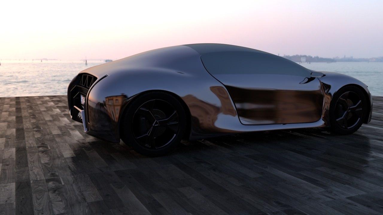 concept supercar model