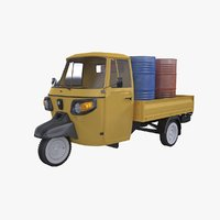 piaggio ape cargo 3D model