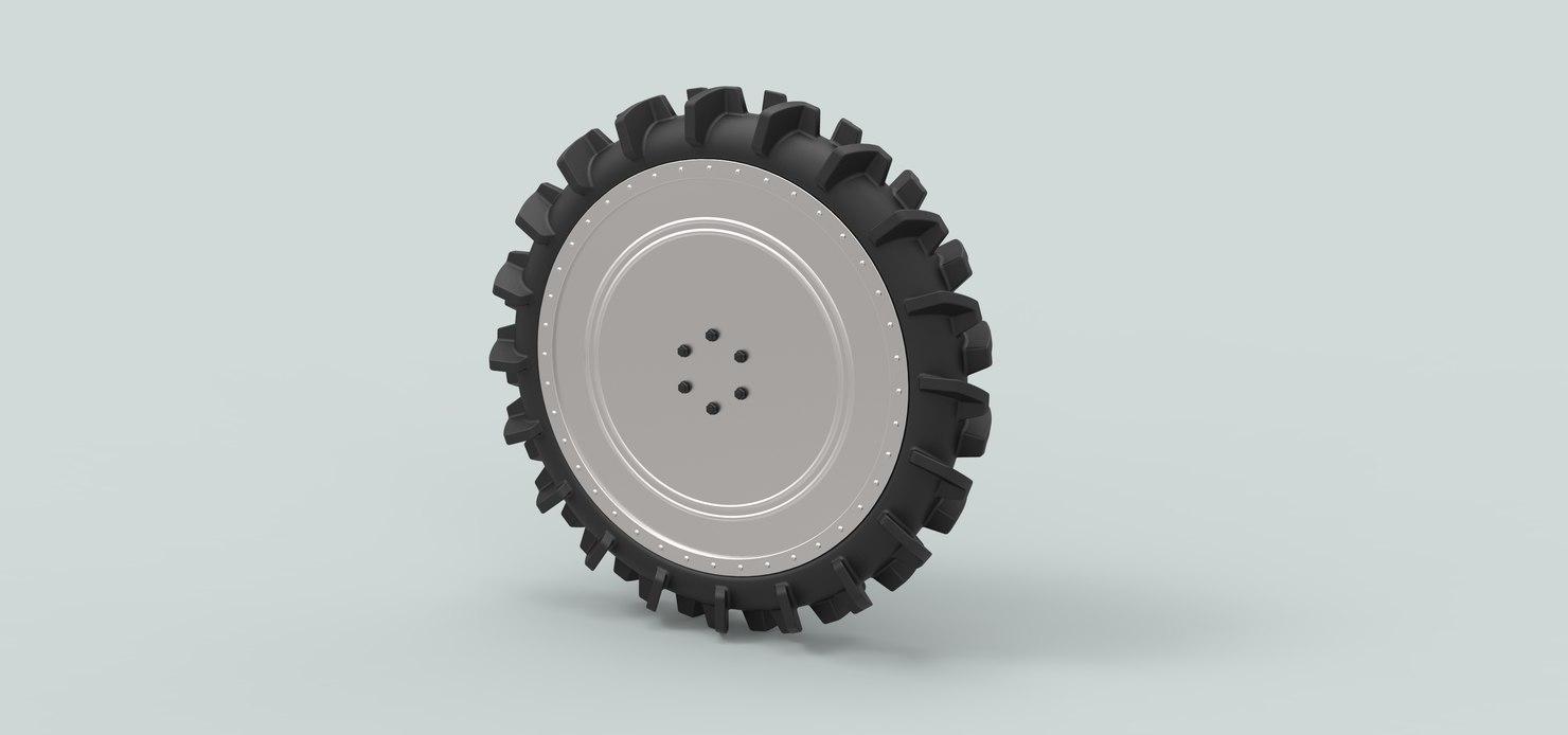 3D wheel buggy swamp