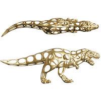 dinosaur voronoi wireframe model