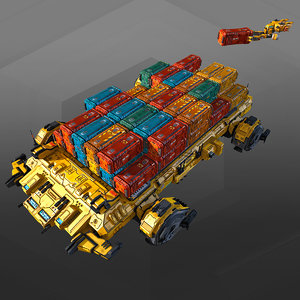3D model 3d sci-fi