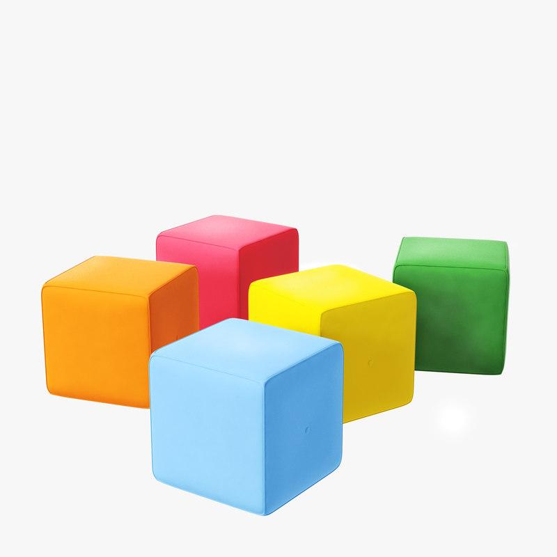 quad poufs model