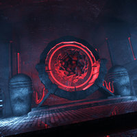 concepts energy chamber sci-fi 3D