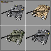 3D scifi tank mx2 sf model