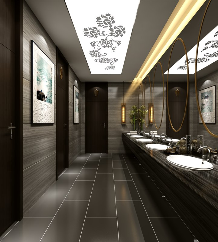 bathroom interior 3D model