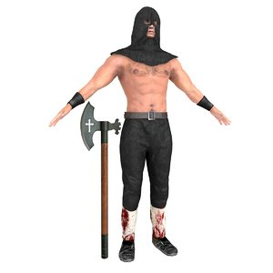 medieval executioner model
