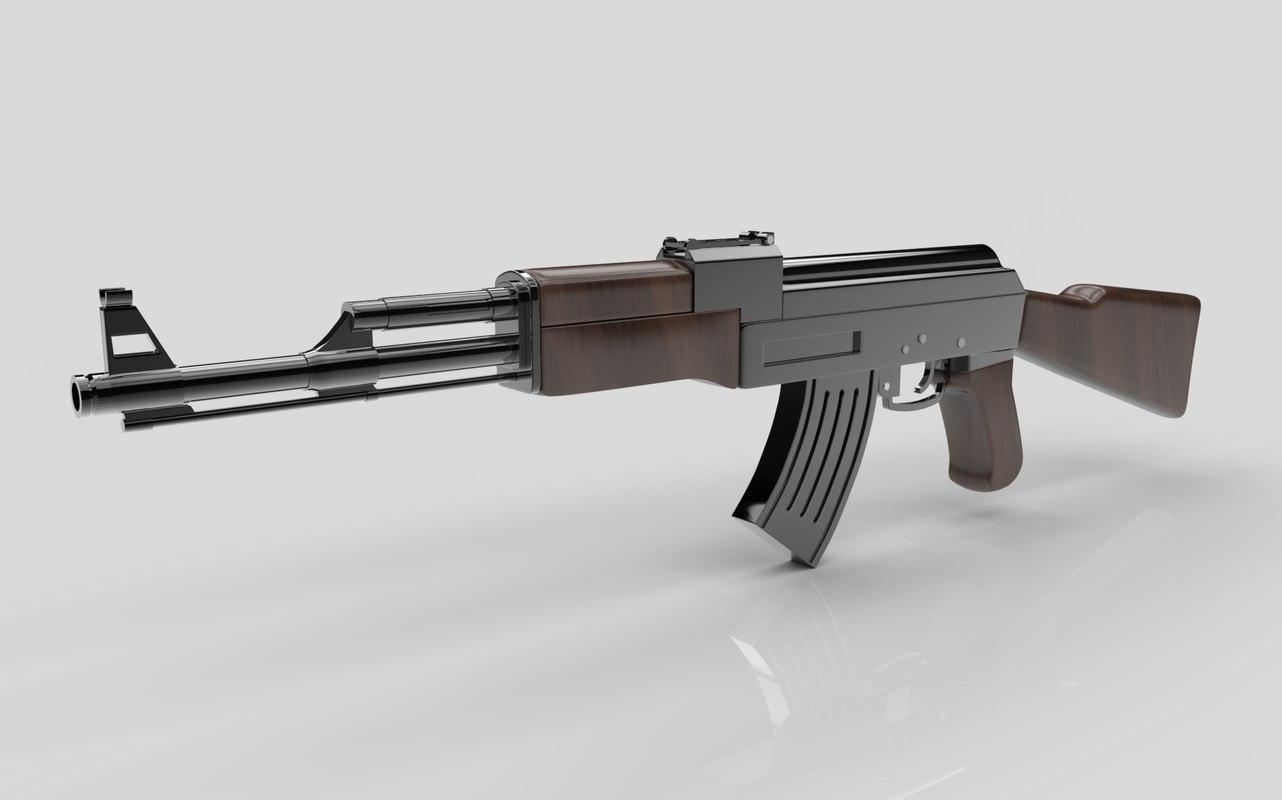 ak 47 ak-47 model