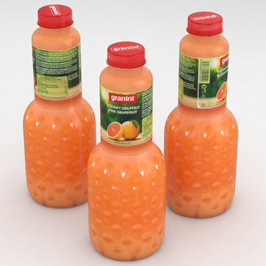bottle juice 3D