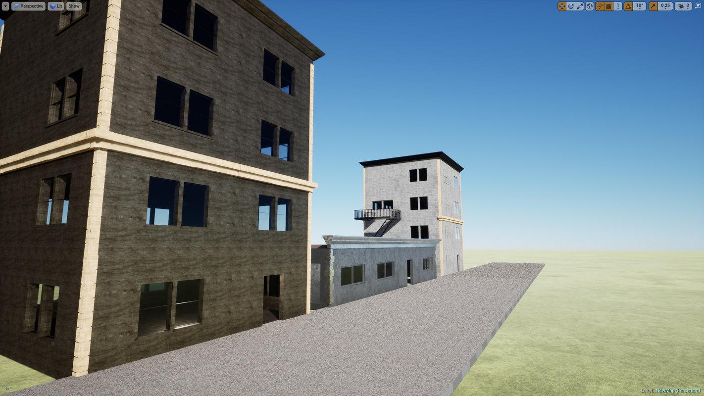 modular building 3D