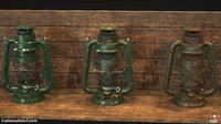 Oil Lantern with 3 variations