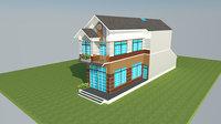 tube house 3D