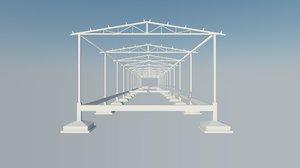 3D industrial framework